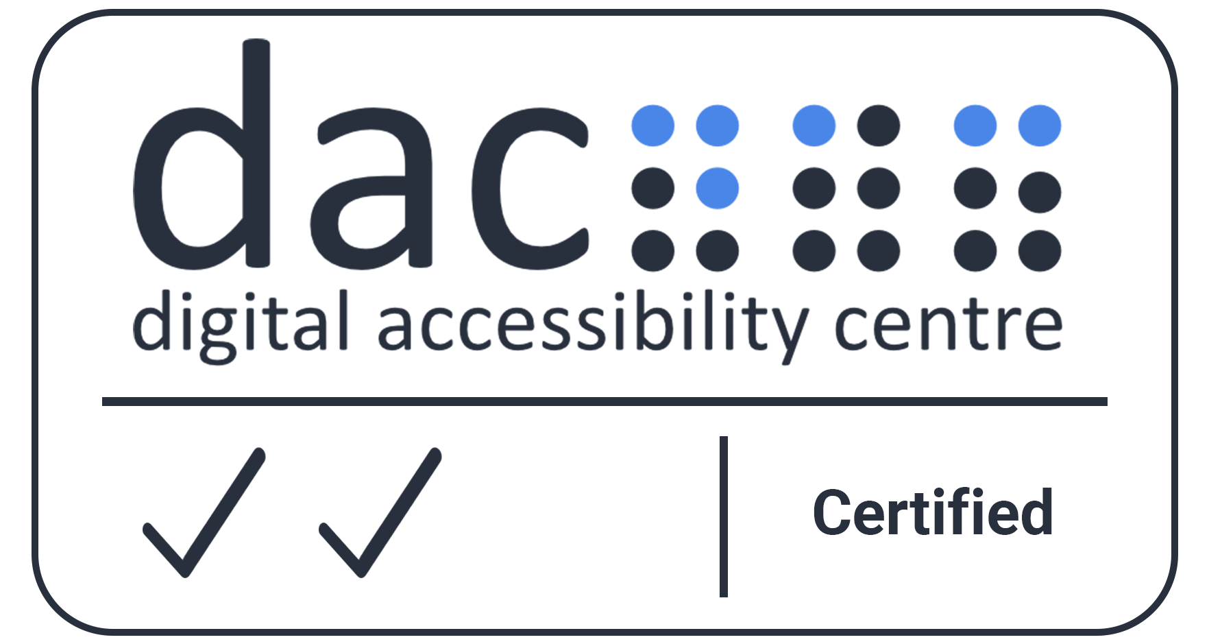 DAC Accessibility Accreditation