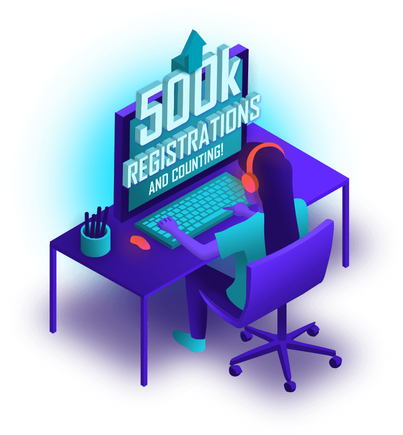500k Registrations and Counting Image